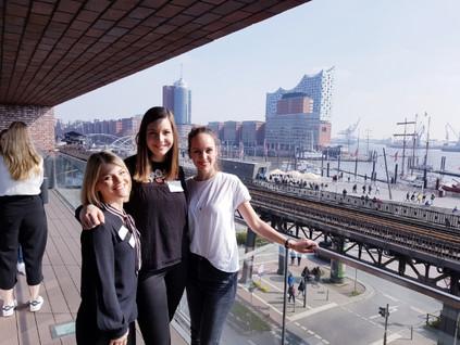 Ausblick Hafen Hamburg HR ROOKIES
