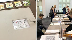 SCBWI Sydney 2019: My first Illustrator Showcase
