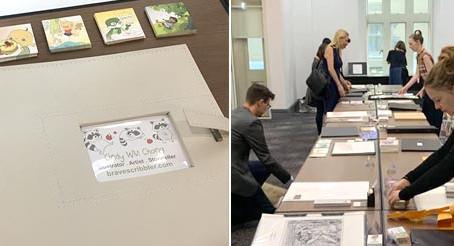 SCBWI Sydney 2019: My first Illustrator Showcase