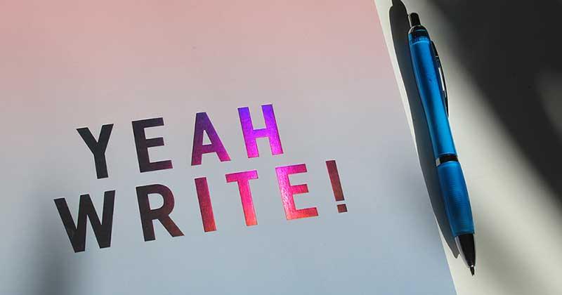yeah write!