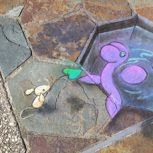 Feeding Nessie