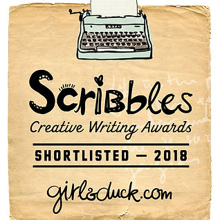 Scribbles Creative Writing Awards Shortlist Badge 2018