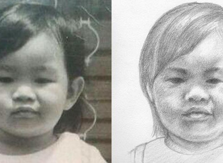 Surprising results from drawing a self-portrait 01