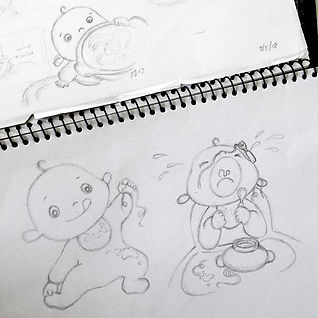 picture book character design