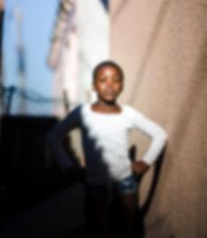 Girl posing for Photo