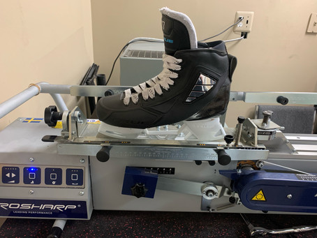 Icon Skate Performance System Profile for Goalie Skates