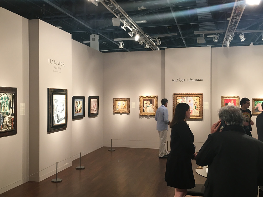 """Hammer Galleries' """"Picasso & Matisse"""" exhibition presented works by both artists and their relationship"""