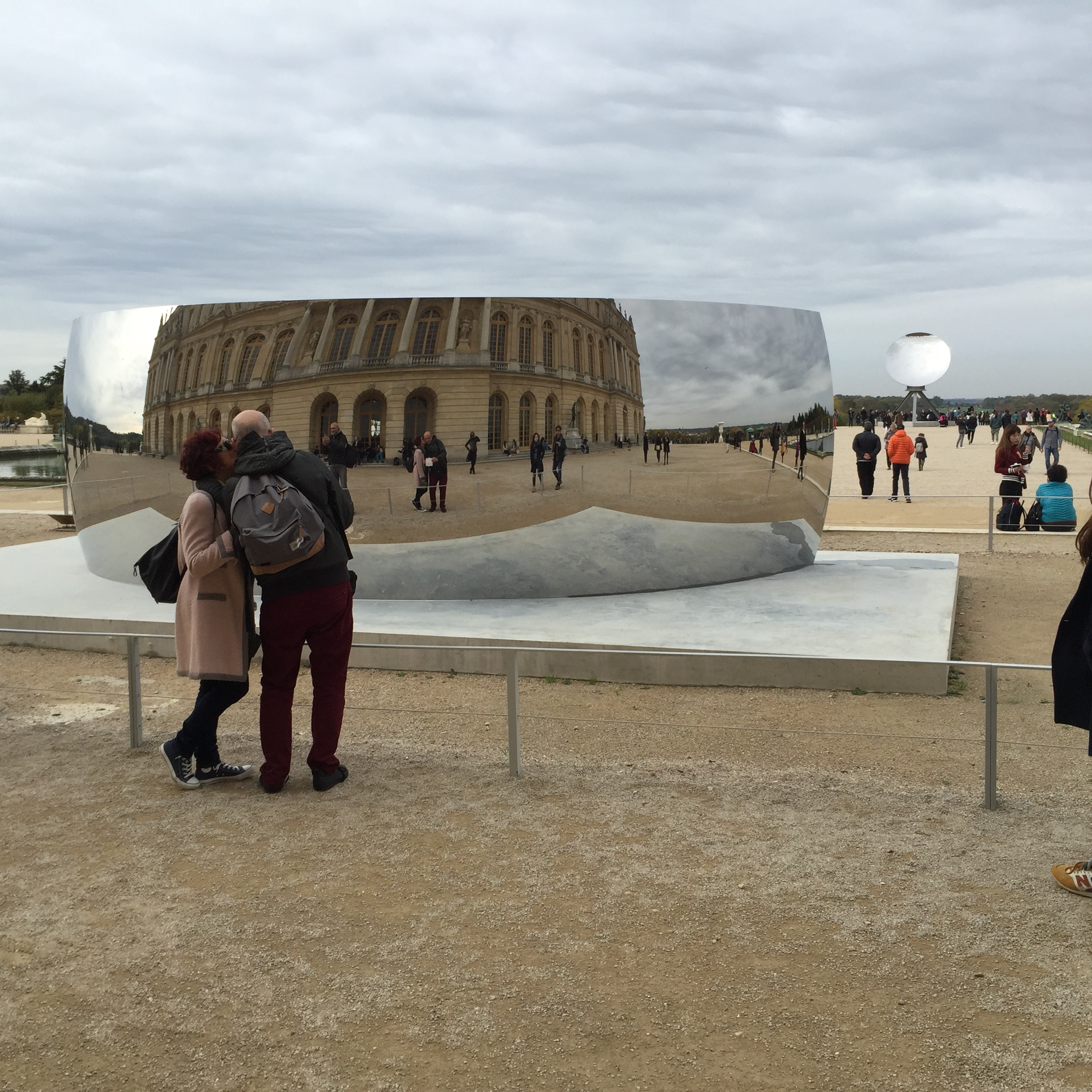 Anish Kapoor, Palace of Versailles