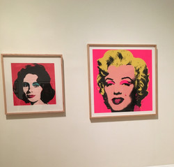 Warhol's Liz (1964) & Marilyn (1967)