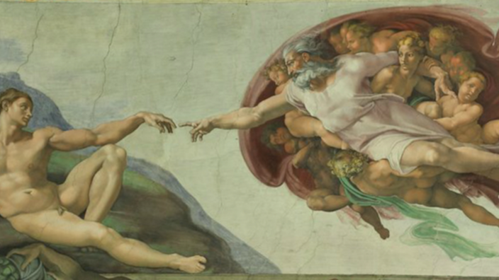 The Sistine Chapel and a Cosmic Push to Write