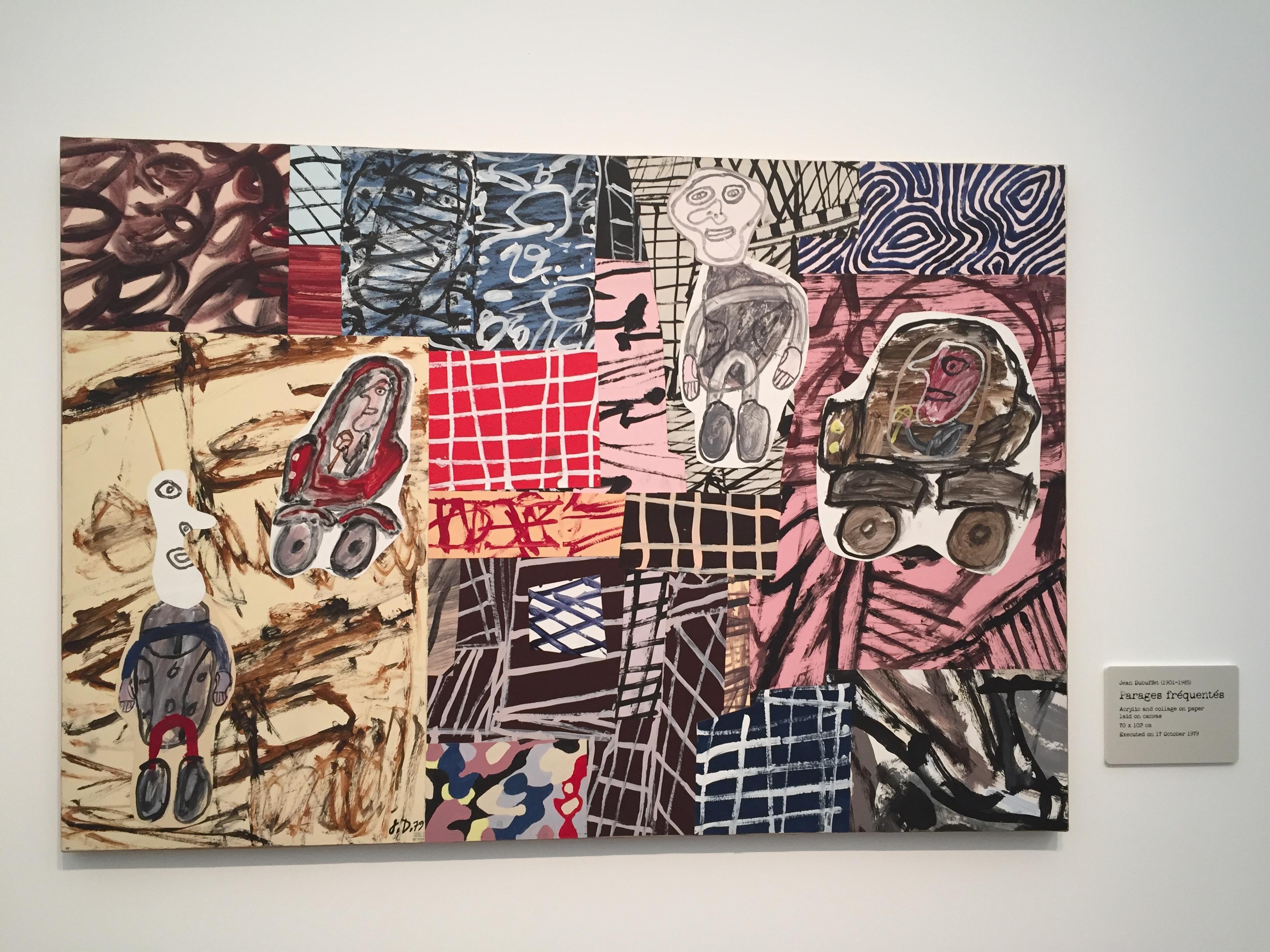 Jean Dubuffet's Parage fréquentés, 1