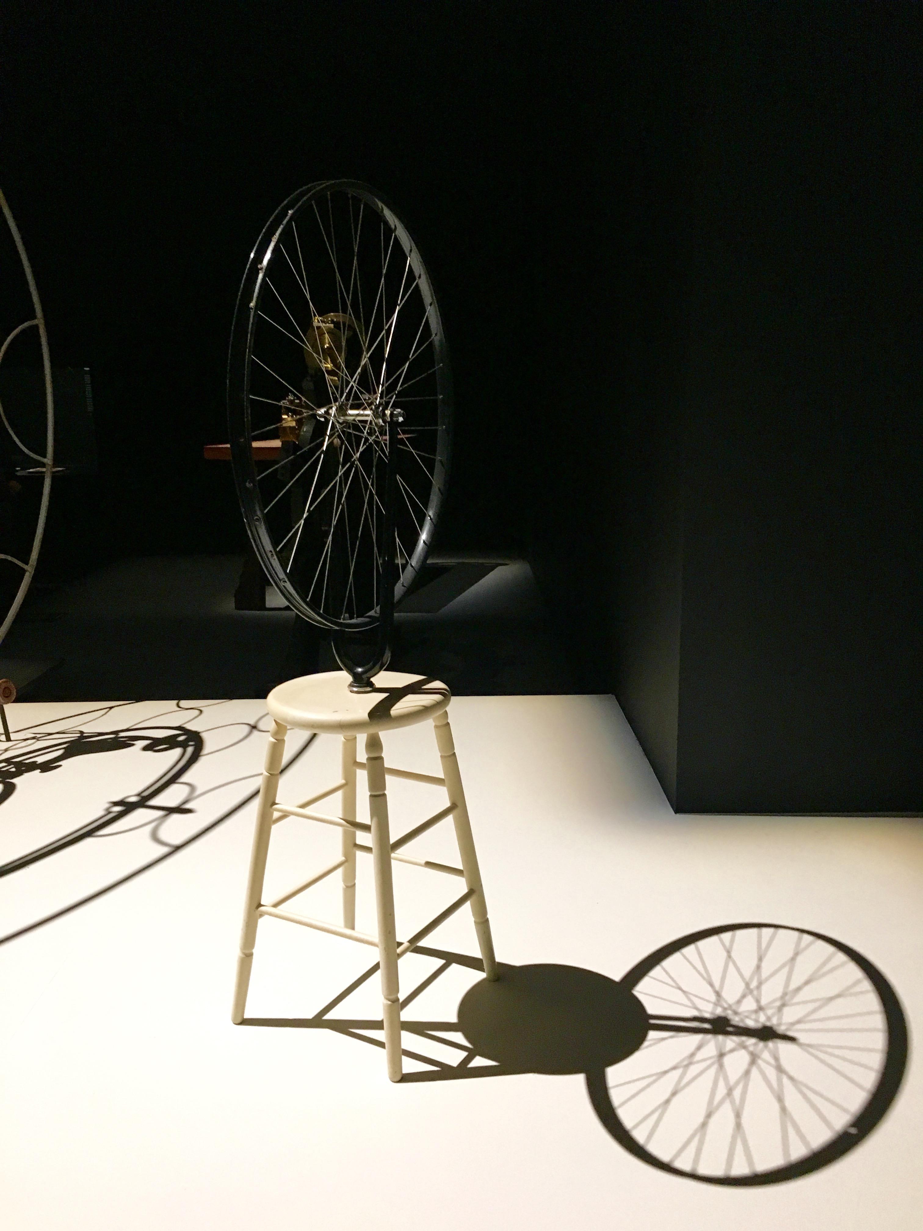 Marcel Duchamps, Roue de Bicyclette