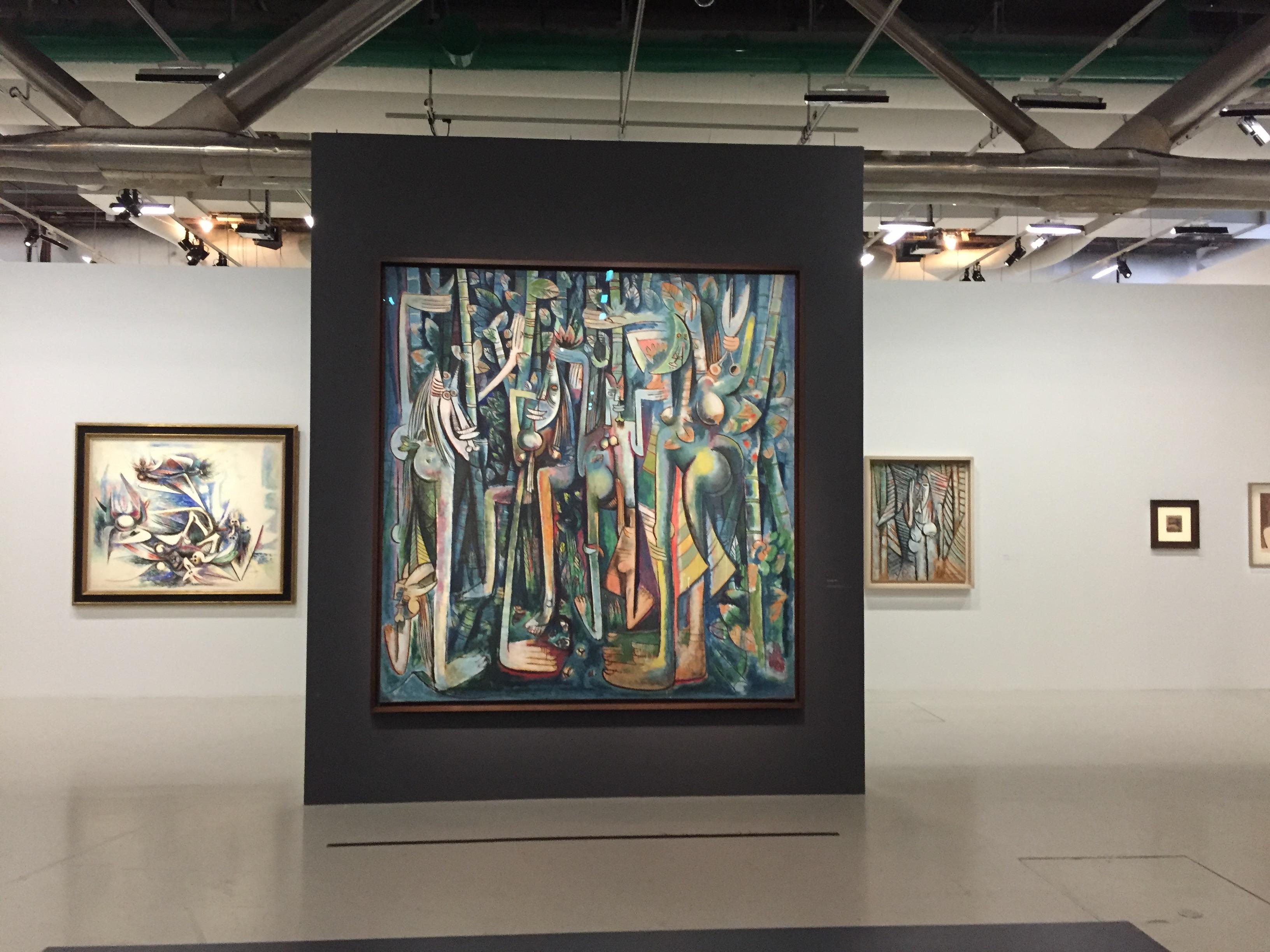 Wifredo Lam, Centre Pompidou