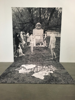Wool Tapestry by Goshka Macula