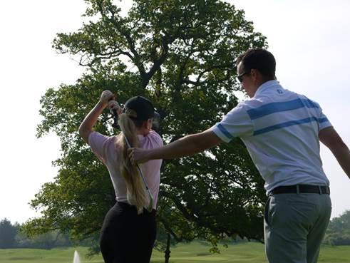 60 minute golf lesson
