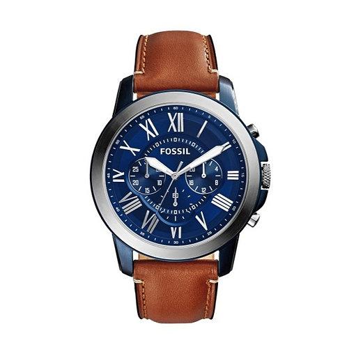 Fossil horloge Grant FS5151 herenhorloge