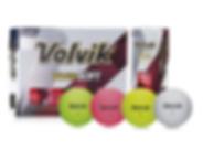 Pelotas de golf Volvik Vivid Soft
