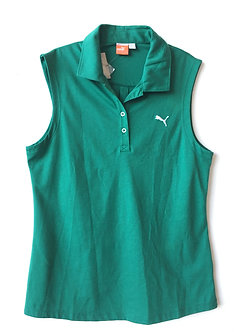 Puma Playera Green Golf