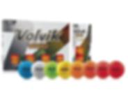 pelotas de golf Volvik Vivid