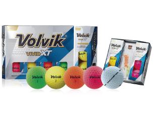 pelotas de golf Volvik Vivid XT