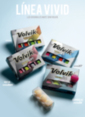 pelotas de golf Volvik