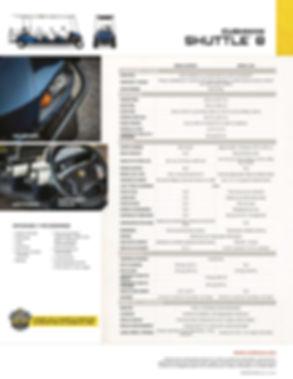 Tecnogolf trae para ti toda la línea de carros ezgo, carros de golf, carros ambulancia, carros utilitarios, carro para naves industriales, carros bar, carros para hotelería, carros para mantenimiento y mucho más. SHUTTLE 8