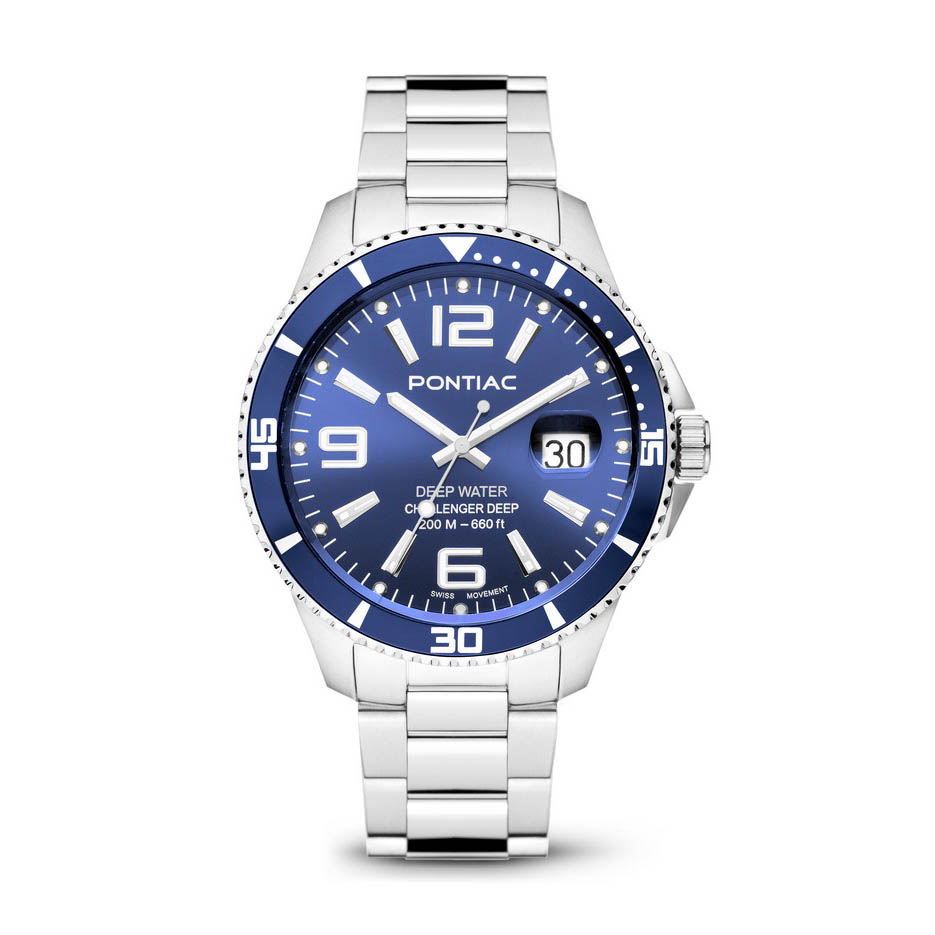 pontiac horloge Deep Water p20035