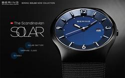 bering solar horloge