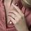 Thumbnail: Blush 1126WZI damesring