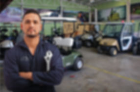 Agencia Tecnogolf especializada en carros de golf, servicio garantizado, técnicos certificados y piezas originales.