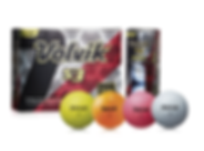pelotas de golf Volvik S3