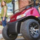 Carro de golf con freno electromagnético, innovador freno, los mejores carros de golf los tiene Tecnogolf y son ezgo.
