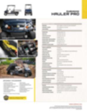 Tecnogolf trae para ti toda la línea de carros ezgo, carros de golf, carros ambulancia, carros utilitarios, carro para naves industriales, carros bar, carros para hotelería, carros para mantenimiento y mucho más. HALER PRO