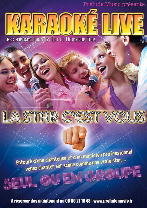 Le Karaoké Live de la Cie Prélud Music