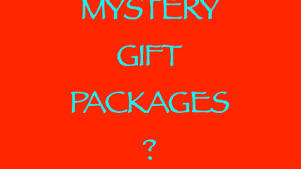Mystery Gift Packages