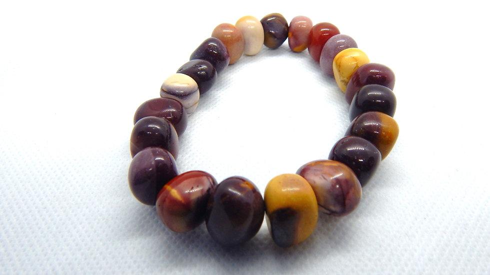 Men's/Women's Mookaite Stretch Bracelet