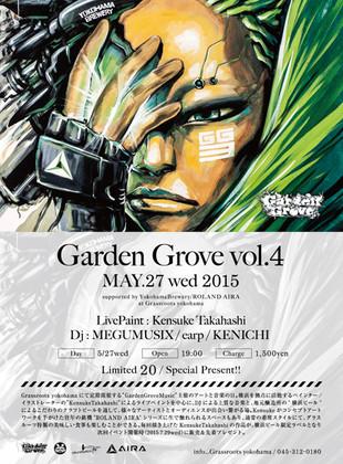 GARDEN GROVE vol.4 MAY.27wed 2015