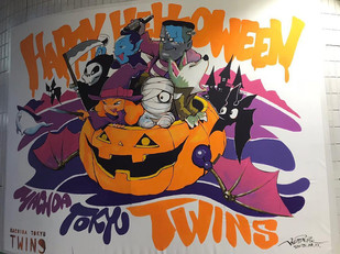 "【KensukeTakahashi】LivePaint ""Halloween paint at TOKYU TWINS machida"" (2018.10.13)"