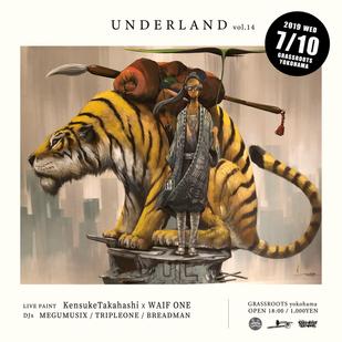 "【KensukeTakahashi】LivePaint info ""UNDERLAND vol.14"""