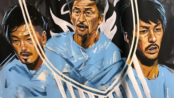 【KensukeTakahashi】LivePaint [YOKOHAMA FC 20th Anniversary Match]