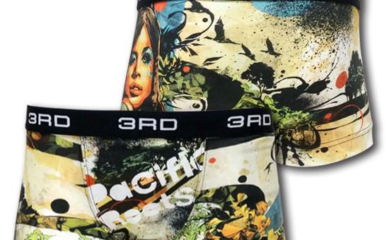 【DRAGON76】のイラストによる、PacificRoots アンダーウェア販売開始