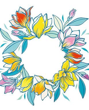 "【LuiseOno】Logo artwork ""LaLaport Shonanhiratuska 2nd Anniversary"""