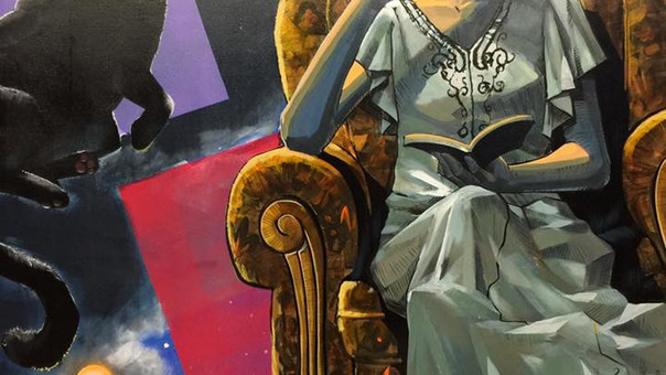 【Kensuke Takahashi】静岡Moga_Ru様 壁画を提供させていただきました
