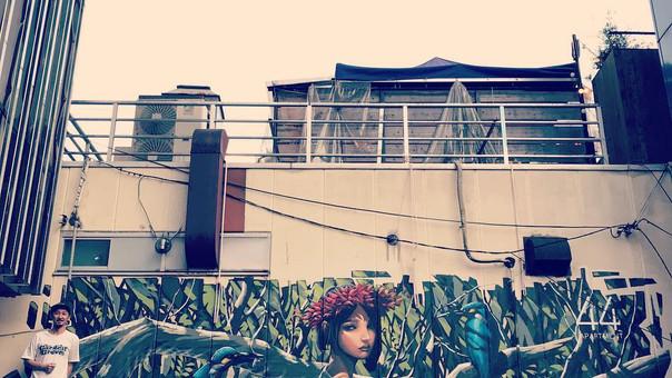 【KensukeTakahashi】Mural [44 APARTMENT machida]
