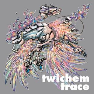 【KensukeTakahashi】CDジャケット twichem「trace」アートワークを担当しました