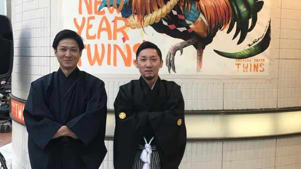 report【KensukeTakahshi】LivePaint at TOKYU TWINS machida(2017.01.03)