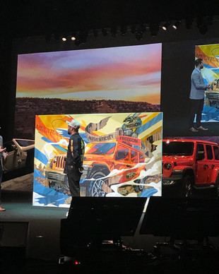 """【DRAGON76】 """"JEEP©︎Wrangler Launch Conference"""" at Maihama amphi theater(2018.10.25)"""