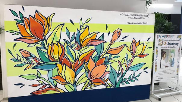 "【LuiseOno】LivePaint & PaintWorkshop ""2nd Anniversary at LaLaport shonan hiratsuka""(201"