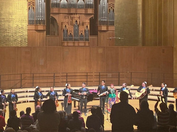 First Mariachi Performs in Hertz Hall at UC Berkeley