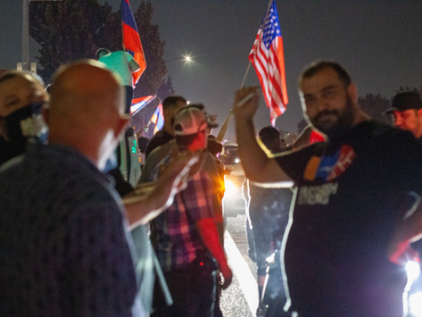 'Stand with Armenia' Protest